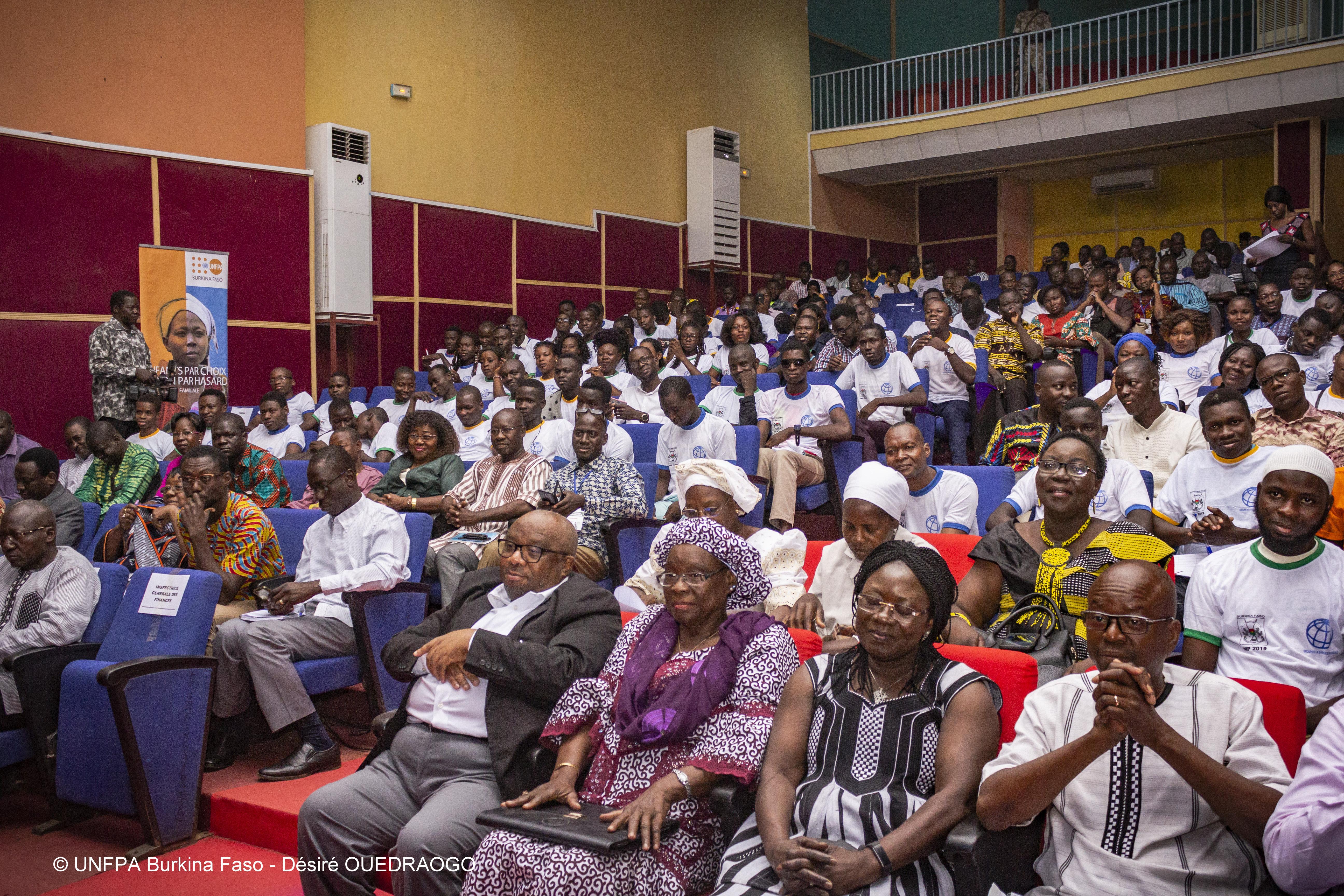 une forte mobilisation surtout des jeunes et des acteurs du développement