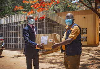 UNFPA fait don de Kits de protection