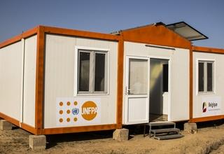 L'UNFPA appuie l'installation d'un poste de santé primaire