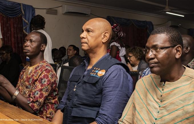 L'UNFPA félicitée par l'Ambassadeur Lieven DE LA MARCHE