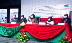 Présidium du lancement de la commémoration de la 31e JMP au Burkina Faso