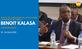 Visite du Directeur de la Division Technique Benoît Kalasa au Burkina Faso